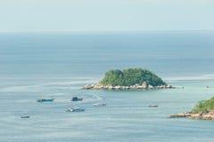 Viewpoint Chado cliff on Koh Adung Stock Photos
