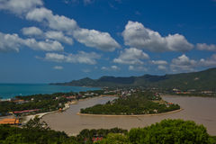 Viewpoint of chaweng koh samui Royalty Free Stock Photography