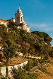 The Viewpoint by the church of Graca Royalty Free Stock Photo