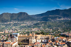 Viewpoint - City of Monreale Royalty Free Stock Image