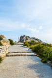Viewpoint close to Cap Formentor, Majorca. (spain Royalty Free Stock Photography