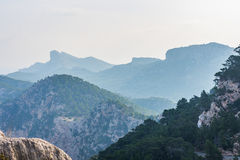 Viewpoint close to Cap Formentor, Majorca. (spain Royalty Free Stock Photos