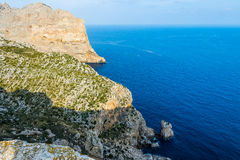 Viewpoint close to Cap Formentor, Majorca. (spain Stock Image