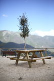 Viewpoint of Colle di Tora Stock Photography