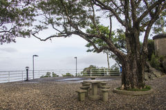 Viewpoint of Cruz Mount - Florianópolis/SC - Brazil Stock Photography