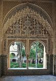 Alhambra of Granada-Spain stock image
