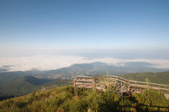Viewpoint at Doi Inthanon National Park Stock Photos