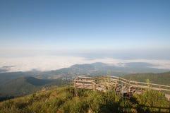 Viewpoint at Doi Inthanon National Park Stock Photos