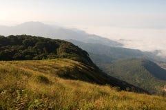 Viewpoint at Doi Inthanon National Park Stock Photo