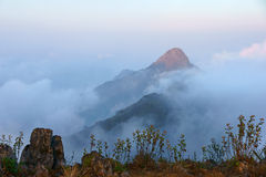 Viewpoint. This is the viewpoint of Doi Luang Chiang Dao. This is location in Thailand royalty free stock photography