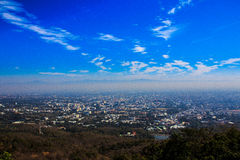 Viewpoint Doi Suthep, Thailand stock images