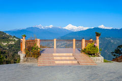 Viewpoint in Gangtok Royalty Free Stock Photography