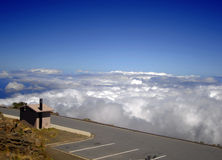 Viewpoint Haleakala old volcano Royalty Free Stock Image