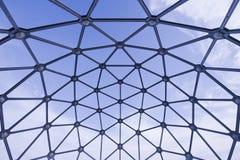 Spheric Shape Metal Viewpoint Royalty Free Stock Image