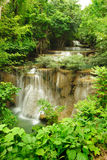 Beautiful waterfall in National Park, Thailand. Royalty Free Stock Photo