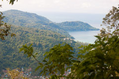 Viewpoint of island of Phuket, Thailand Stock Image