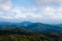 Viewpoint on island of Phuket Stock Images