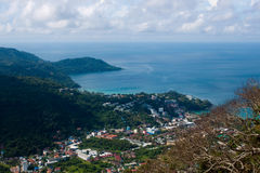 Viewpoint of island of Phuket, Thailand Royalty Free Stock Photos