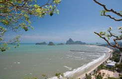 Viewpoint at Khao Chong Krajok  Thai Stock Photos