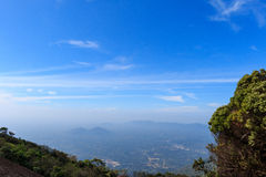 Viewpoint at khao khitchakut Stock Photos