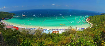 Viewpoint koh lan, pattaya, thailand Stock Photography