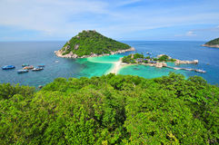 Viewpoint Koh Nang Yuan Royalty Free Stock Photo