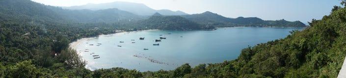 Viewpoint of Koh Phangan Stock Photos