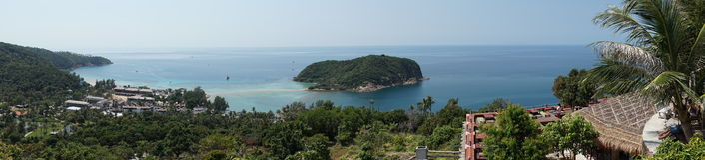 Viewpoint of Koh Phangan Royalty Free Stock Photo