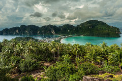 Viewpoint Koh Phi-Phi. Royalty Free Stock Photography