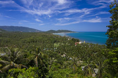 Viewpoint on Koh Samui Royalty Free Stock Photo