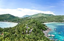 Viewpoint at Koh Tao Island Royalty Free Stock Images