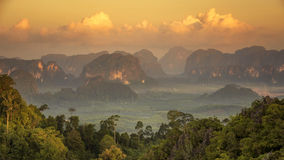 Viewpoint in Krabi Stock Photography