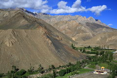 Viewpoint from Lamayuru Stock Image