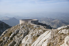 Viewpoint on Lovcen mountains Stock Image