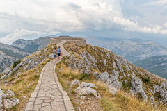 Viewpoint Lovcen National Park Stock Image