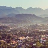 Viewpoint at luang prabang in laos Royalty Free Stock Photo