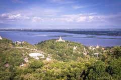 Viewpoint at Mandalay Hill Royalty Free Stock Photo