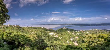 Viewpoint at Mandalay Hill Stock Photography