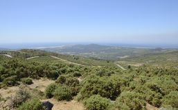 Viewpoint of the Mountain La Curota Royalty Free Stock Photos