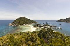 Viewpoint at Nangyuan island Stock Images