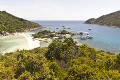 Viewpoint at Nangyuan island Royalty Free Stock Images