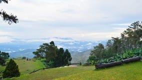 Viewpoint in national park. Huai Nam Dang. Thailand. Viewpoint in national park. Huai Nam Dang. Chiang Mai and Mae Hong Son. Thailand Stock Photo