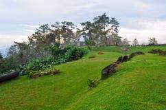 Viewpoint in national park. Huai Nam Dang. Thailand Stock Photos