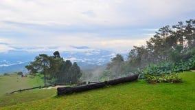 Viewpoint in national park. Huai Nam Dang. Thailand Stock Photo