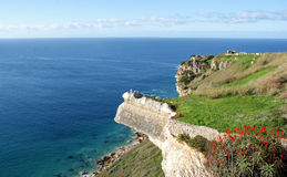 Viewpoint in Nazare Royalty Free Stock Image