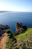 Viewpoint in Nazare Stock Image