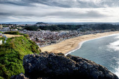 Viewpoint in Nazare Stock Photography
