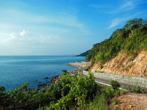 Viewpoint Noen Nang Phaya, Kung Wiman Beach, Chanthaburi royalty free stock photo