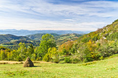 Free Viewpoint On A Landscape Of Mount Bobija, Peaks, Hills, Rocks, Meadows And Colorful Forests Royalty Free Stock Photography - 35862677