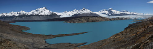 Viewpoint over Upsala Glacier Royalty Free Stock Images